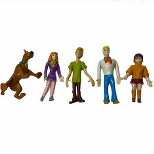 VTG 90's Collectable Scooby Doo Figurines